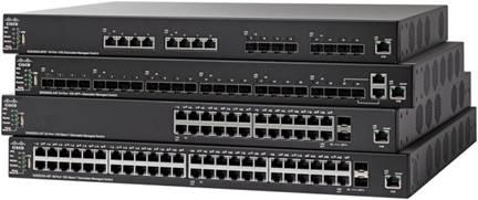 Cisco 550X シリーズ スタッカブル マネージド スイッ