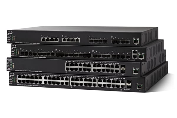 Cisco SX550X-16FT 16-Port 10G Stackable Managed Switch