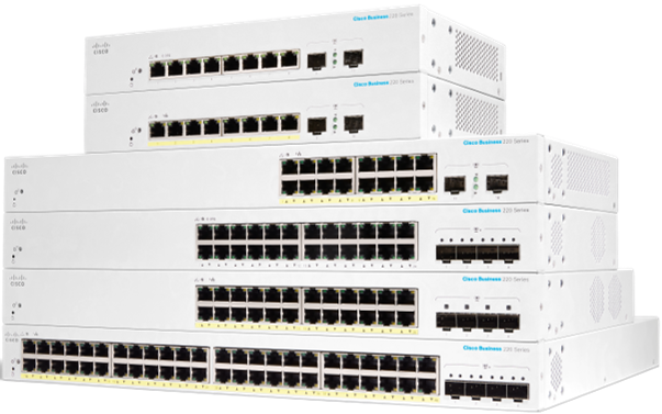 Cisco Business 220 Series Smart Switches