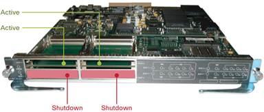 WS-X6904-40G-2TXL Compatible QSFP-40G-SR4 for Cisco C6000