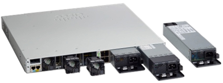 Cisco Catalyst 9300 Series modular uplink models stack (C9300 SKUs) and fixed uplink models stack (C9300L SKUs)