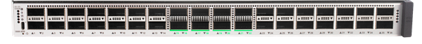 C9500-32C: Cisco Catalyst 9500 Series high-performance switch with 32x 100 Gigabit Ethernet