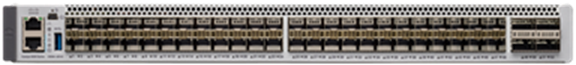 C9500-24Y4C: Cisco Catalyst 9500 Series high-performance switch with 24x 1/10/25G Gigabit Ethernet + 4x 40/100G Uplink
