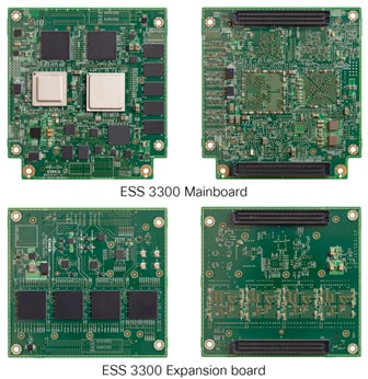 ESS 3300 Mainboard & Expansion board