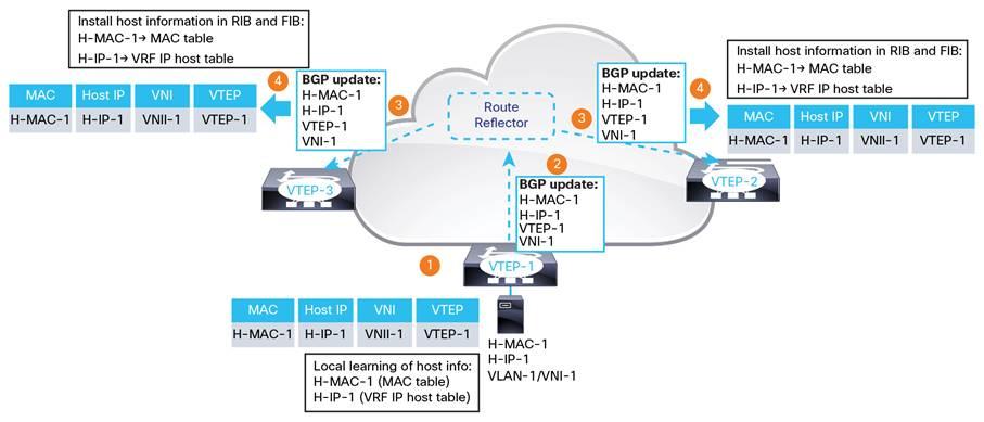 Deploy a VXLAN Network with an MP-BGP EVPN Control Plane White Paper