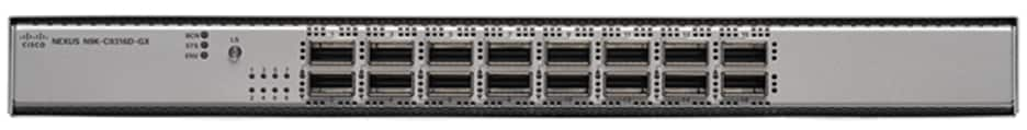 Cisco Nexus 9316D Switch -  A close up of a deviceDescription automatically generated