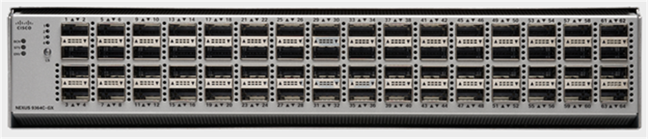 Cisco Nexus 9364C Switch -  A circuit boardDescription automatically generated