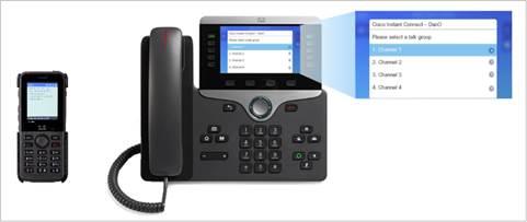 Cisco Instant Connect Phone Client Data Sheet - Cisco