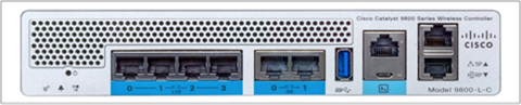 Cisco Catalyst 9800-L-C front panel