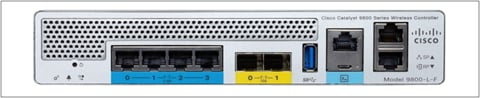 Cisco Catalyst 9800-L-F front panel