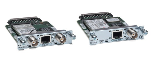 Cisco 3G Wireless WAN High-Speed WAN Interface Card