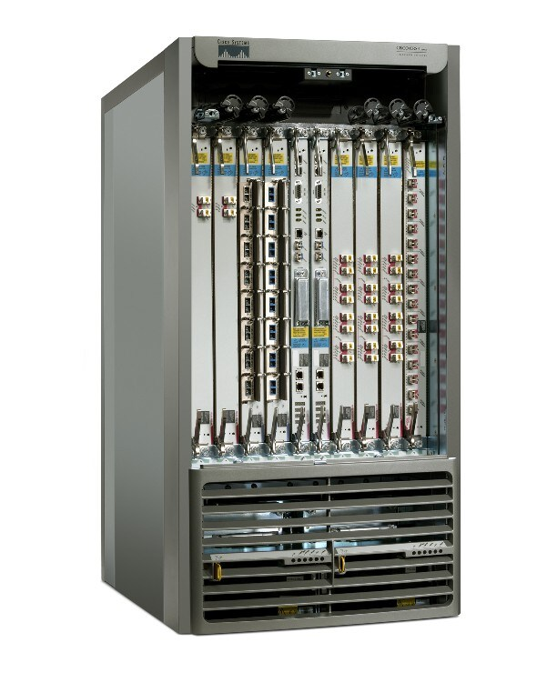 Cisco CRS-1 8-Slot Single-Shelf System