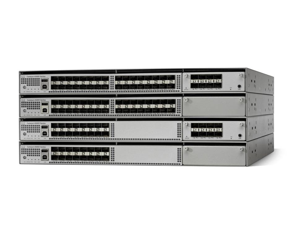 Cisco Catalyst 4500X-40 SFP+ Switch