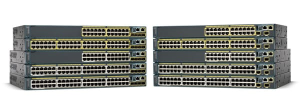 Cisco Catalyst 2960-8TC-S Compact Switch