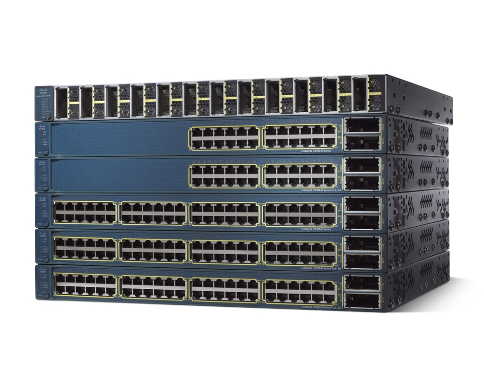 Cisco Catalyst 3560E-48PD-EF Switch