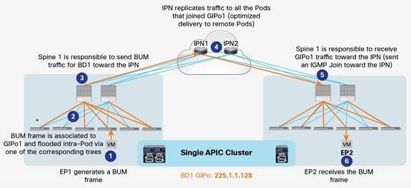 Description: Y:\Production\Cisco Projects\C11 Deployment Guide-White Paper\C11-737855-00\v1a 200916 0635 AnandG\C11-737855-00_ACI Multi Pod White Paper\Links\C11-737855-00_figure10.jpg