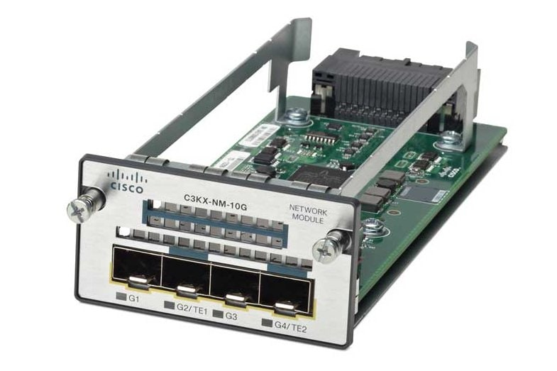 Cisco Catalyst C3KX-NM-10G Network Module