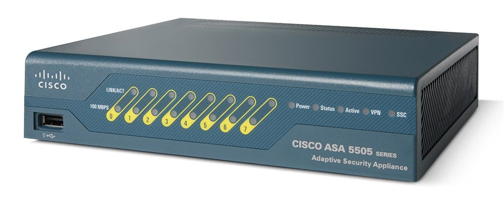 Cisco ASA 5505 Adaptive Security Appliance