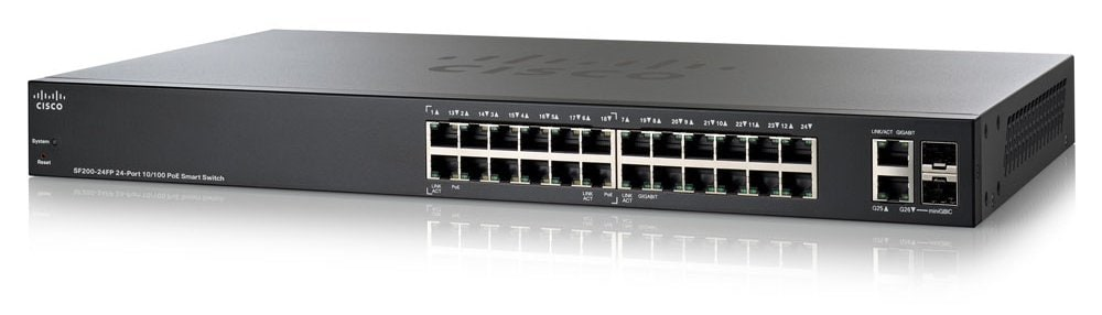 Image result for Cisco switch 24P SF200 24 SLM224GT