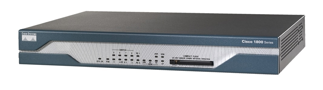 Cisco 1802 Integrated Services Router