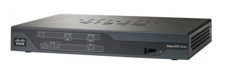 Cisco 880 Integrated Services Routers