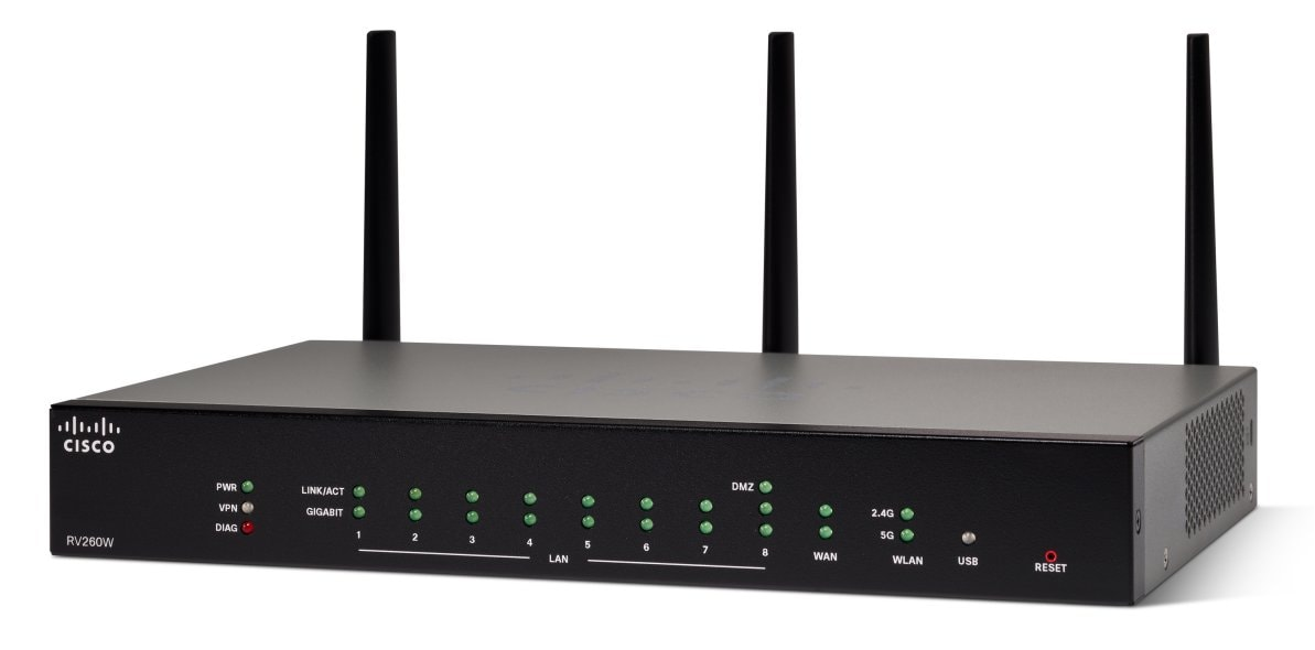 Cisco RV260W Wireless-AC VPN Router