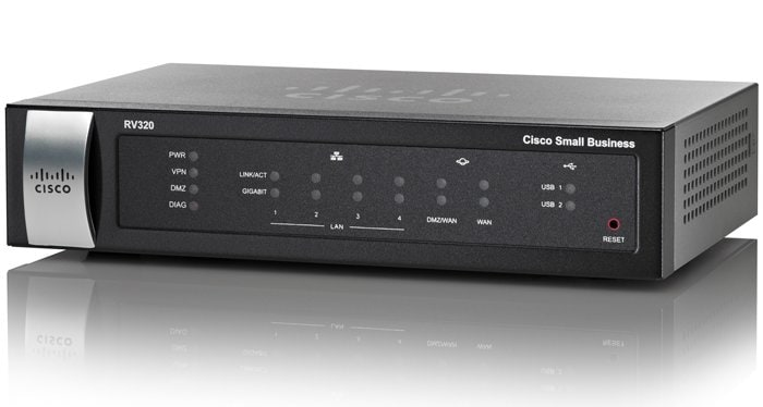Cisco RV320 Dual Gigabit WAN VPN Router - Cisco