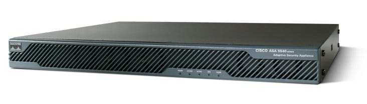 Cisco ASA 5540 Adaptive Security Appliance