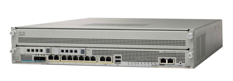 Cisco ASA 5585-X with FirePOWER SSP-10