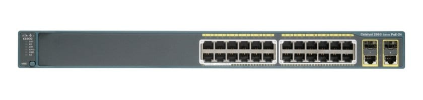 Cisco Catalyst 2960-Plus 24TC-L Switch
