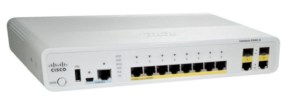Cisco Catalyst 2960C-8PC-L Switch