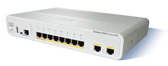 Cisco Catalyst 2960CG-8TC-L Compact Switch