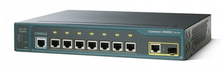 Cisco Catalyst 2960G-8TC-L Compact Switch