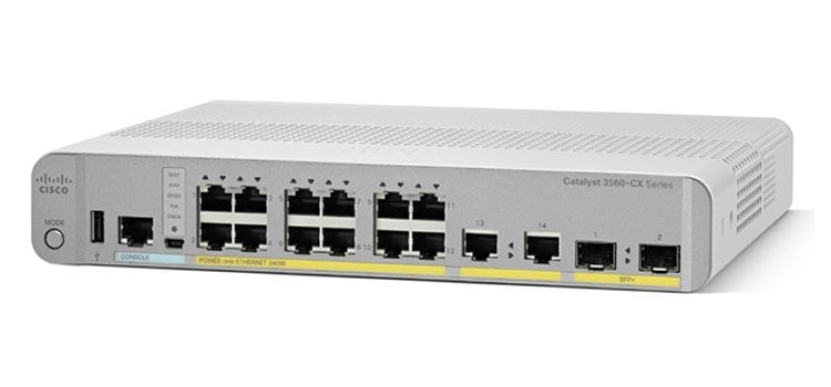 Cisco Catalyst 3560CX-12PC-S Switch - Cisco