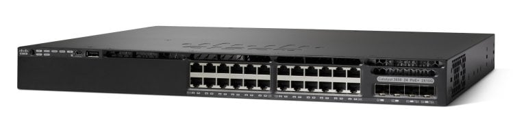 Cisco Catalyst 3650-24TS-S Switch - Cisco