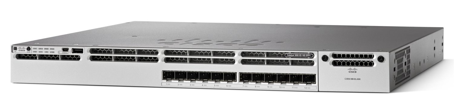 Cisco Catalyst 3850-12XS-E スイッチ