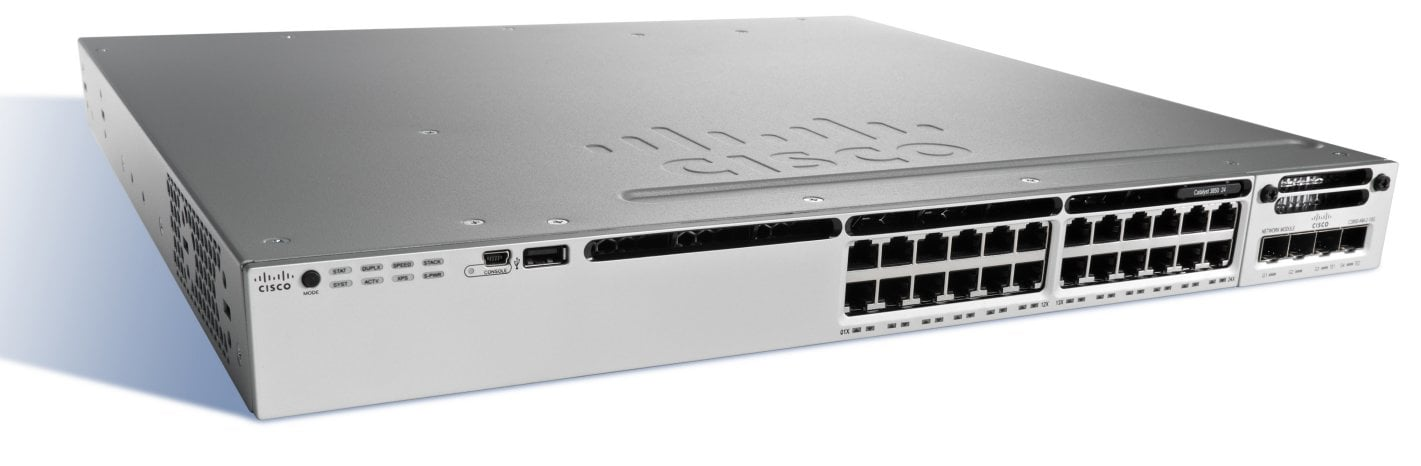Cisco Catalyst 3850-24T-E Switch