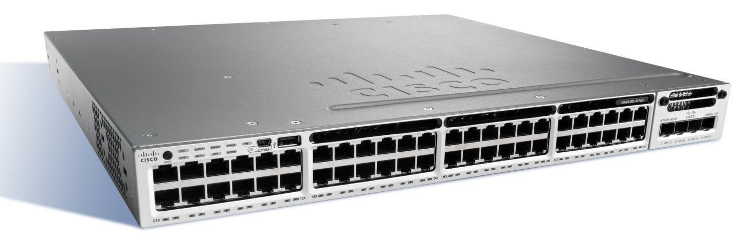 Cisco Catalyst 3850-48F-E коммутатор