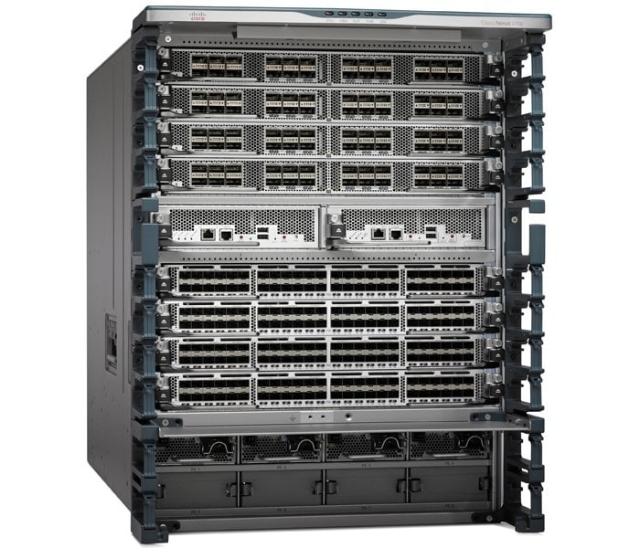 10-Slot Switch del nexo 7700 de Cisco
