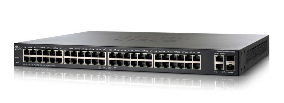 Cisco SF200-48 48-Port 10/100 Smart Switch - Cisco