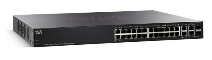 Cisco SF300-24MP 24-port 10/100 Max-PoE Managed Switch