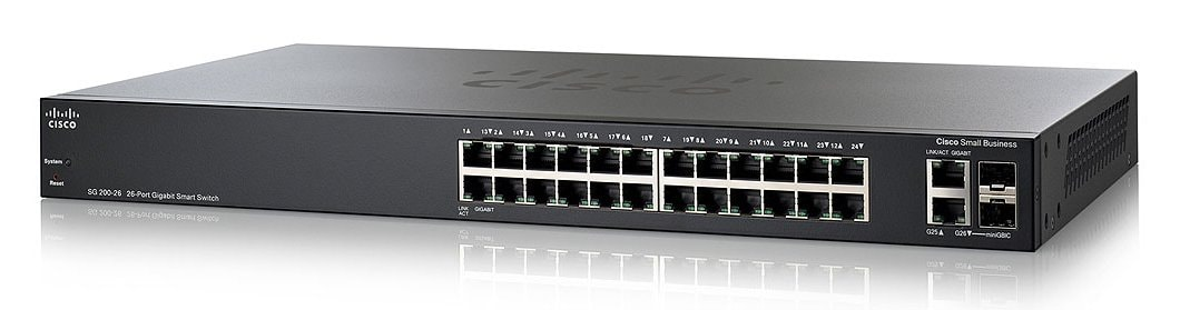 Cisco SG200-26 26-port Gigabit Smart Switch - Cisco