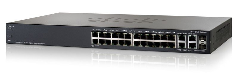 Cisco SG300-28 28-Port Gigabit Managed Switch - Cisco