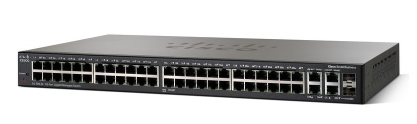 Cisco SG300-52 52-Port Gigabit Managed Switch