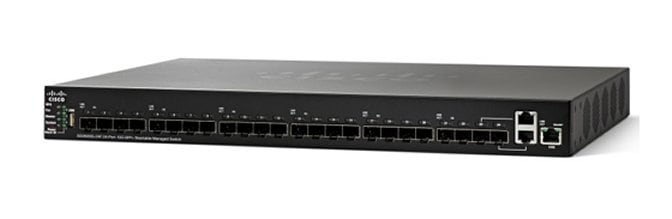 Cisco Sg350xg 24f 24 Port 10g Sfp Stackable Managed Switch Cisco