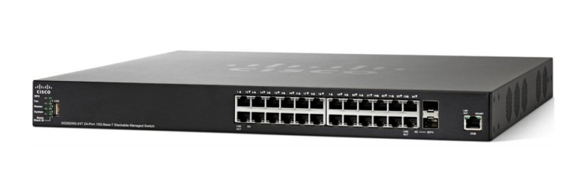 Cisco SG350XG-24T 24-Port 10GBase-T Stackable Managed Switch