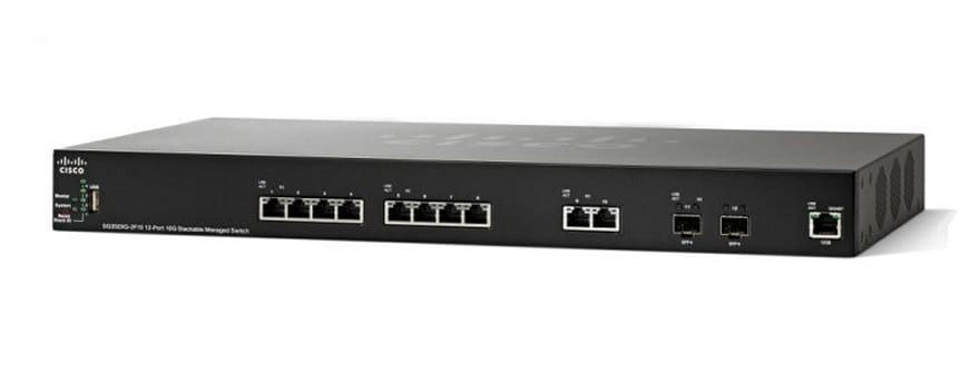 Cisco SG350XG-2F10 12-Port 10GBase-T Stackable Managed Switch