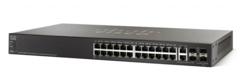 Cisco SG500-28MPP 28-port Gigabit Max PoE+ Stackable Managed Switch