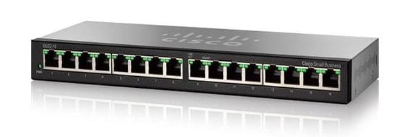 Cisco SG92-16 16-Port Gigabit Desktop Switch