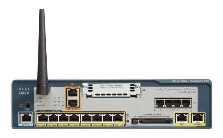 Cisco Unified Communications 540 for Small Business (UC540)